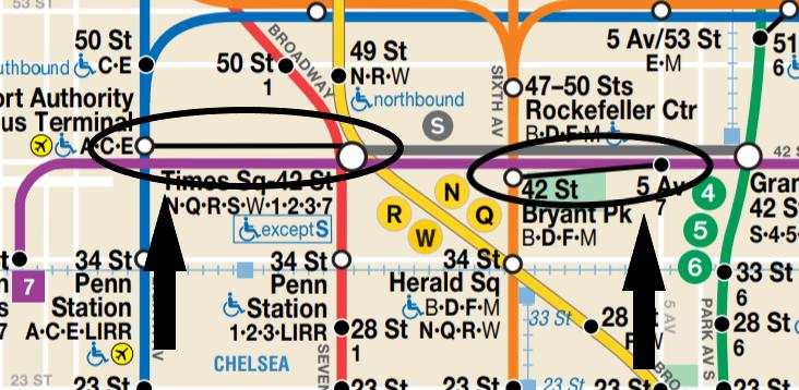 New York subaway map