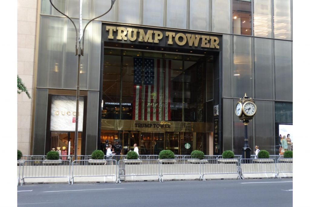 Trump tower at 5th avenue