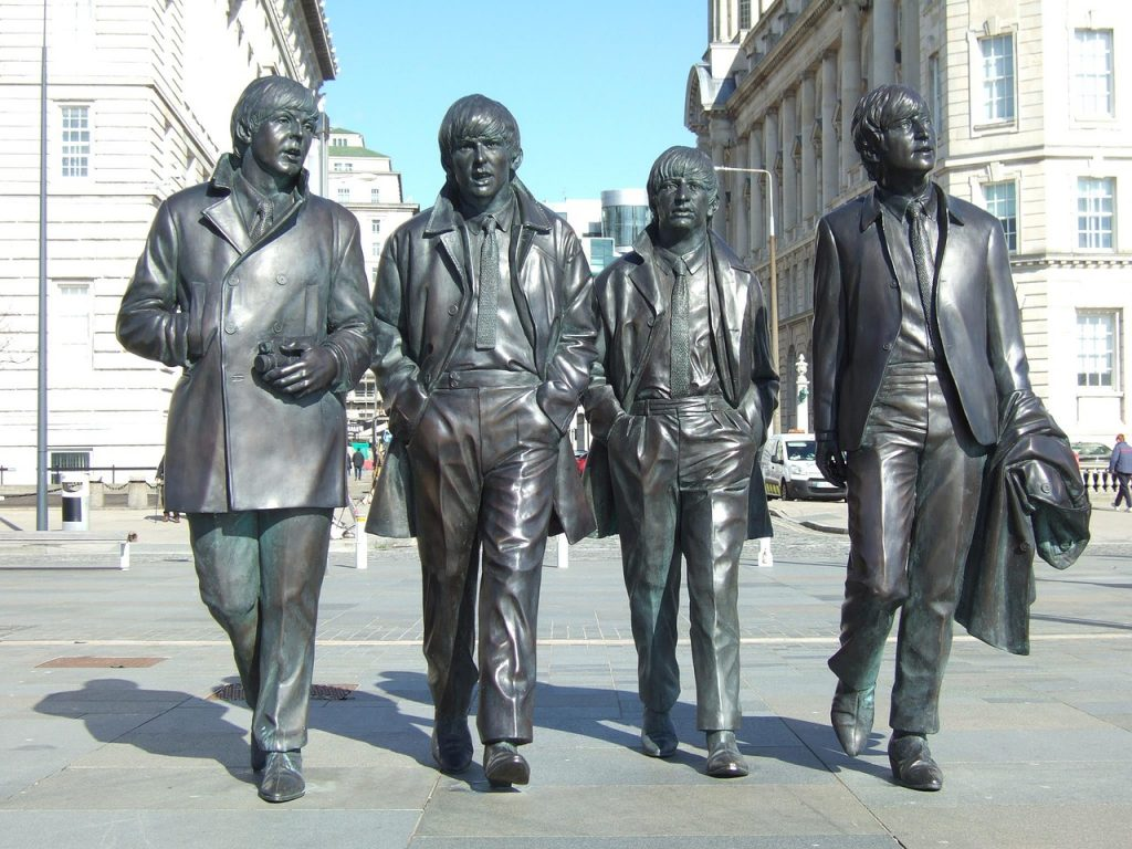 The famous band of Liverpool, the Beatles.