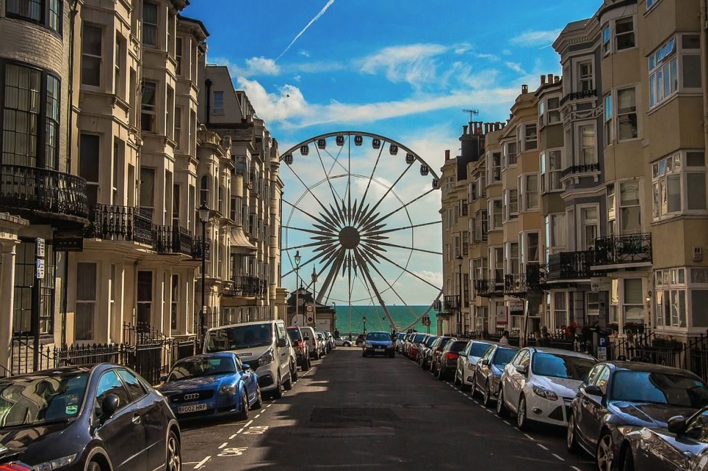 The beautiful Brighton to England