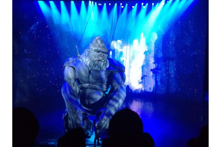 King Kong show at Brodway theater.