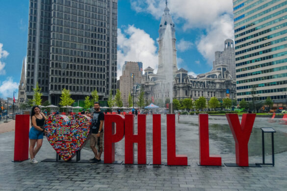 i love philly sign