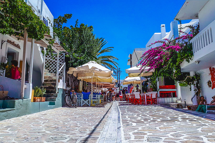 The island of Antiparos