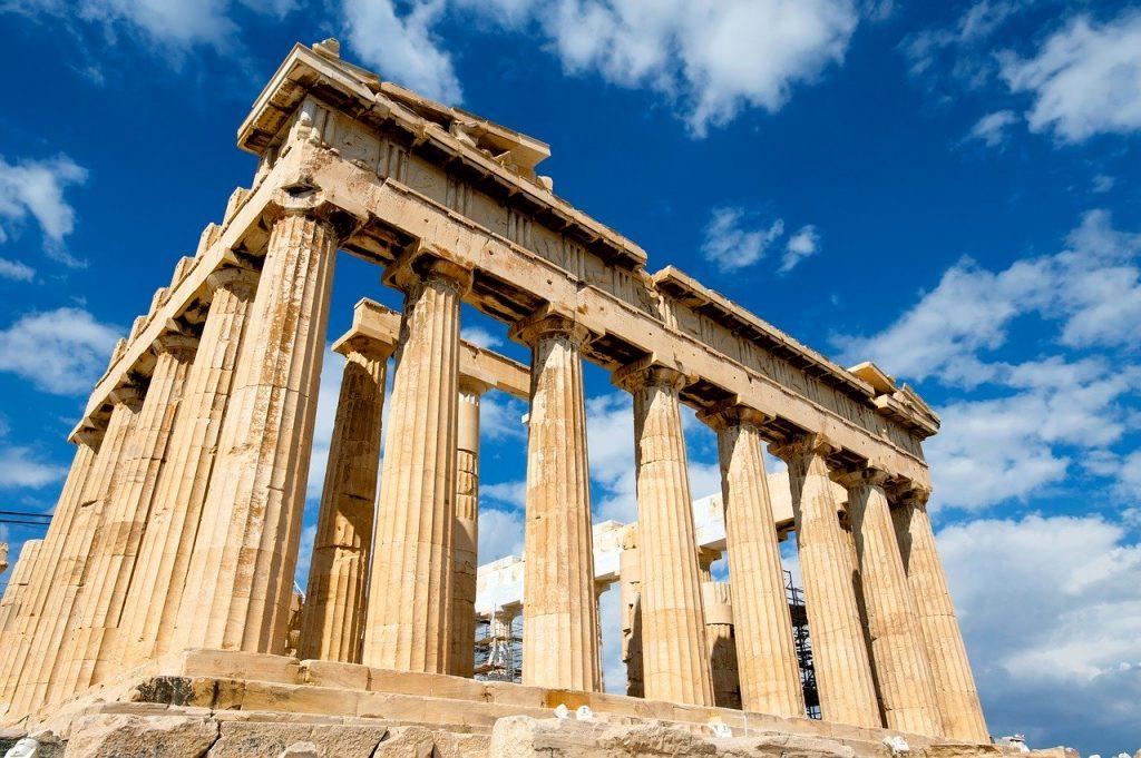 Parthenon monument in Athens