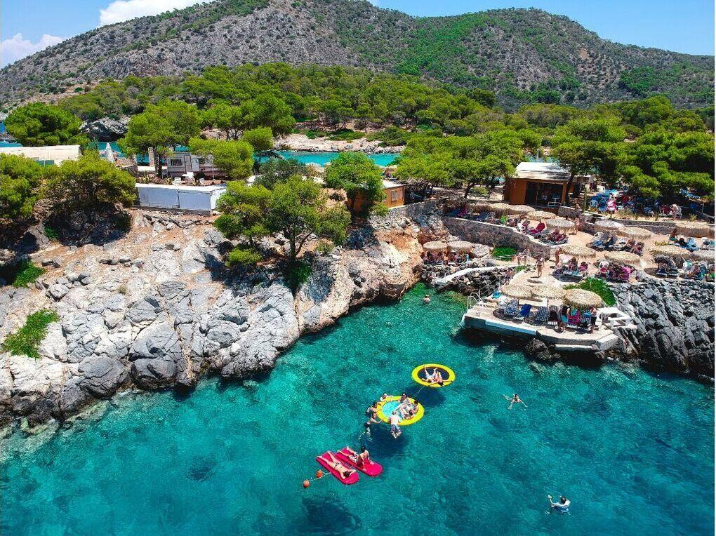 The beautiful island of Agistri