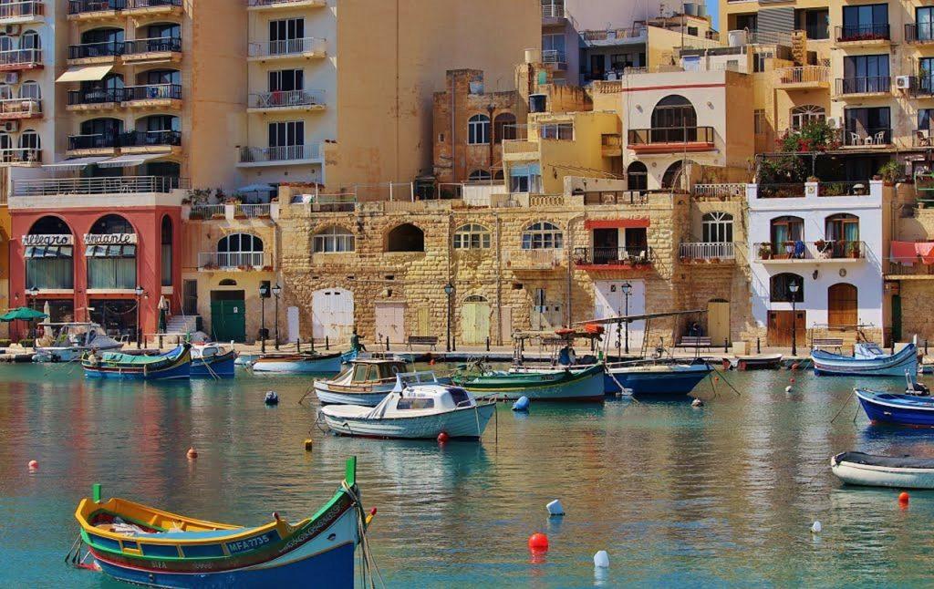 Marsaxlokk το ψαροχώρι της Μάλτας