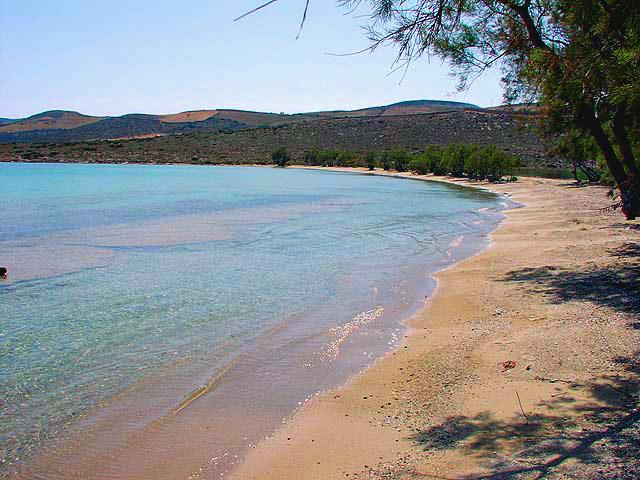 fanari beach in antiparos