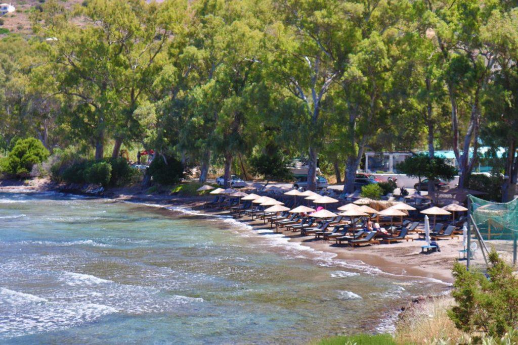 Aeginitissa beach in Aegina