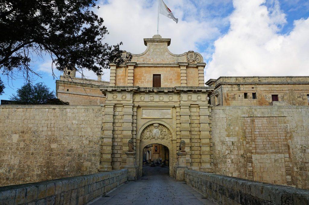Mdina entrance in Malta