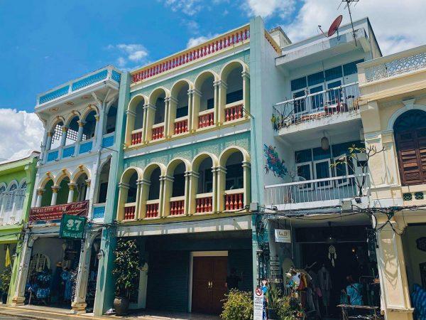 Phuket old town.