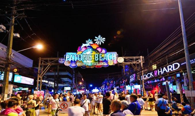 Patong beach to Phuket