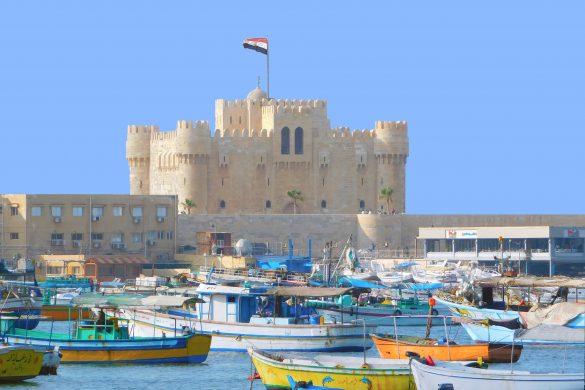 Quitbay castle in Alexandria