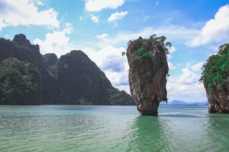 The famous james bond island to Phuket.