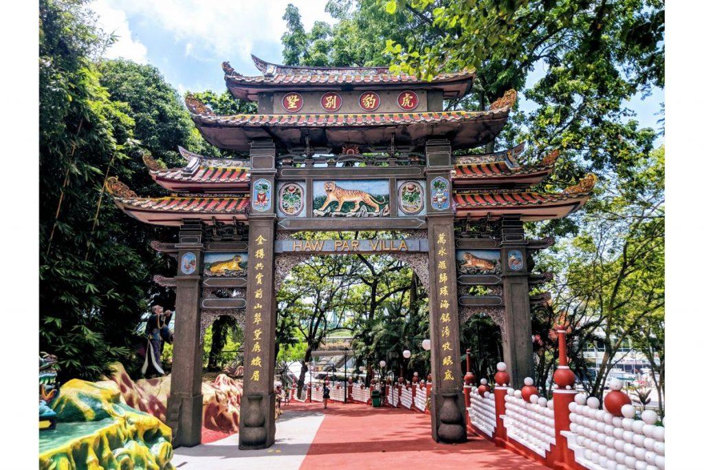 Haw Par villa. The asian cultural park to Singapore.