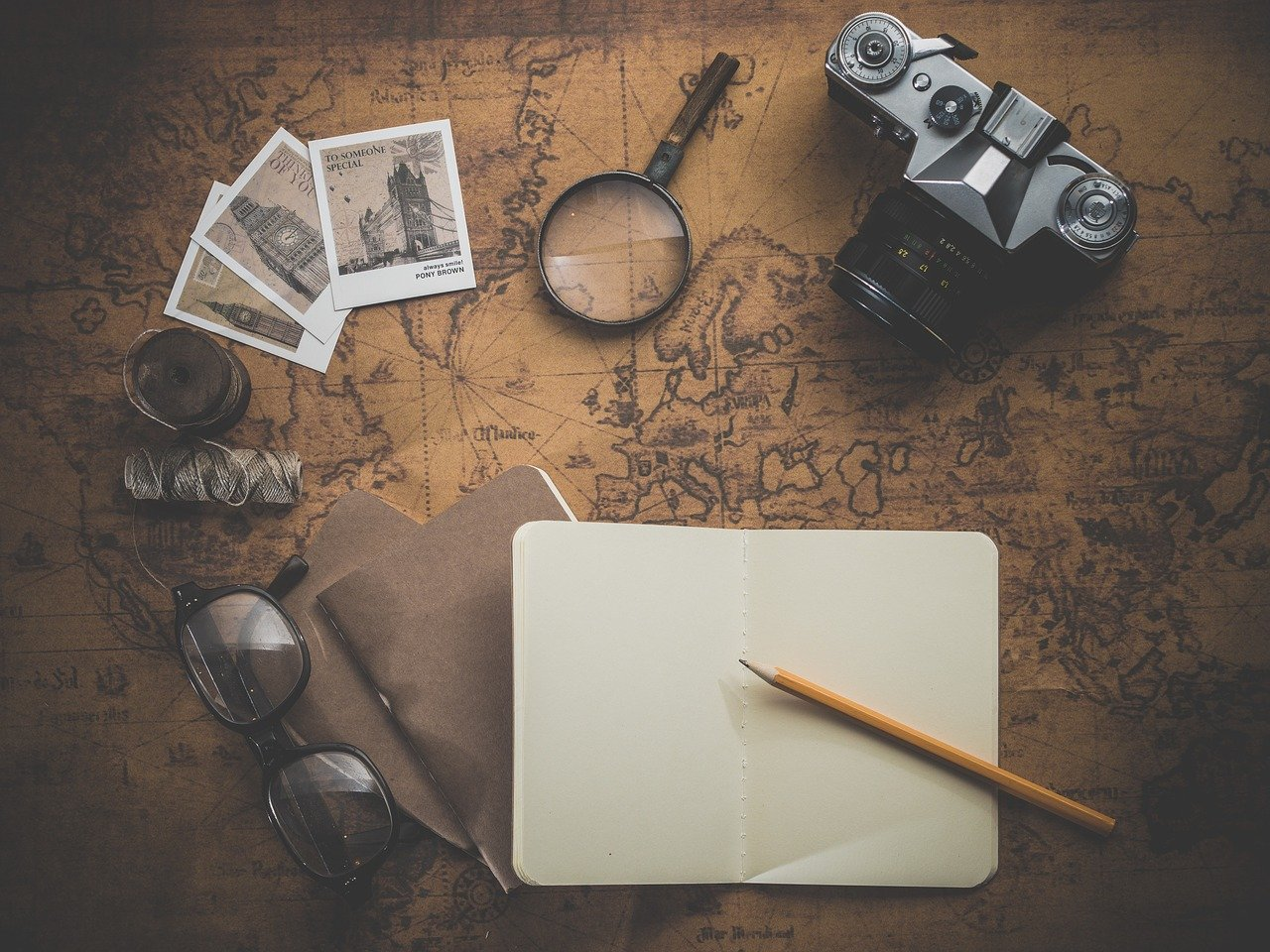 preparing a trip