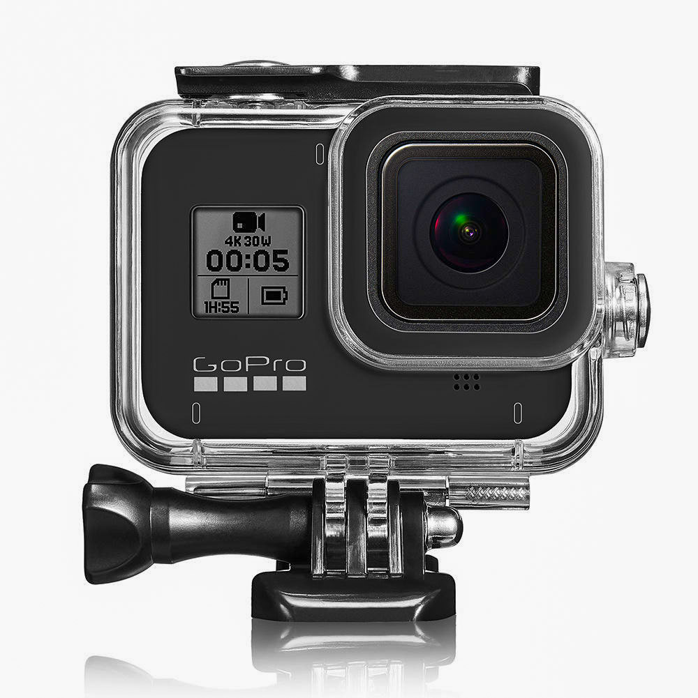 waterproof cage for go pro action cameras