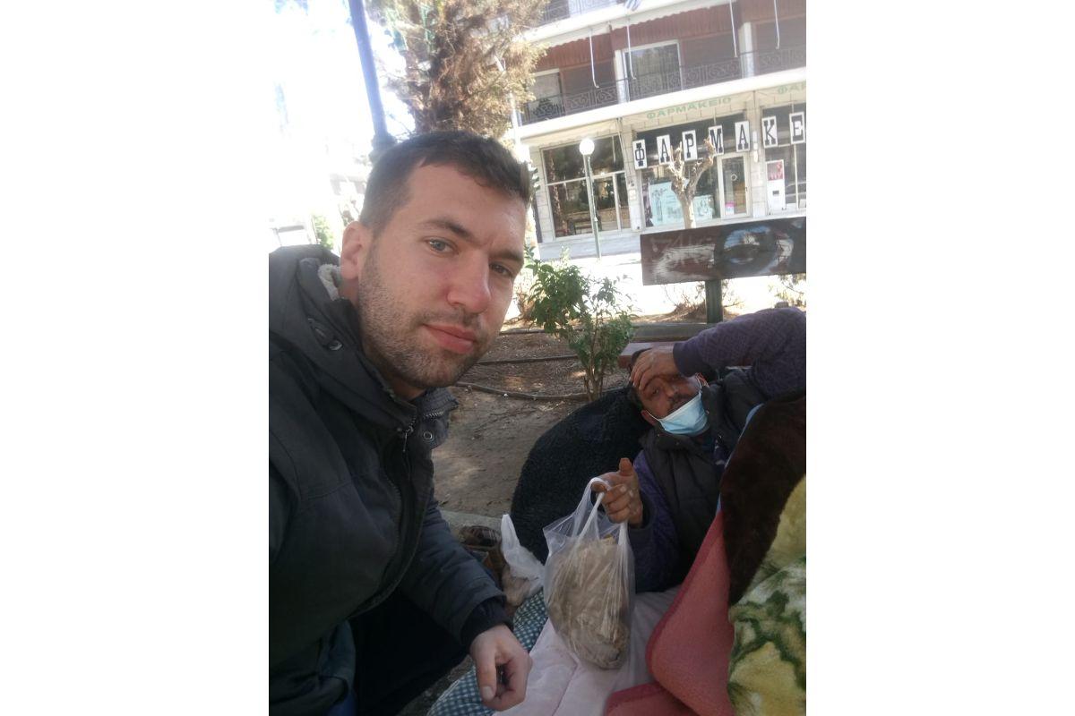 φαγητό σε άστεγους