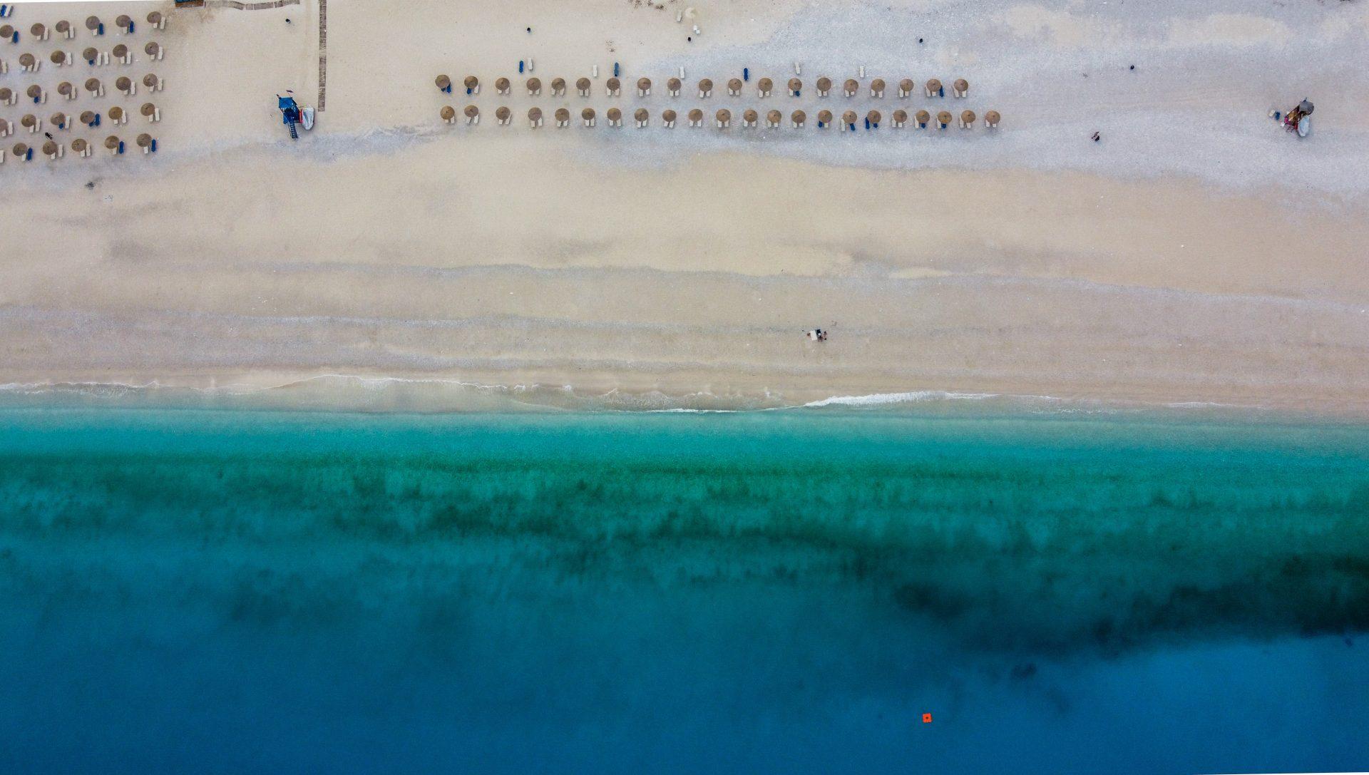 Η παραλία του Μύρτου στην Κεφαλονιά