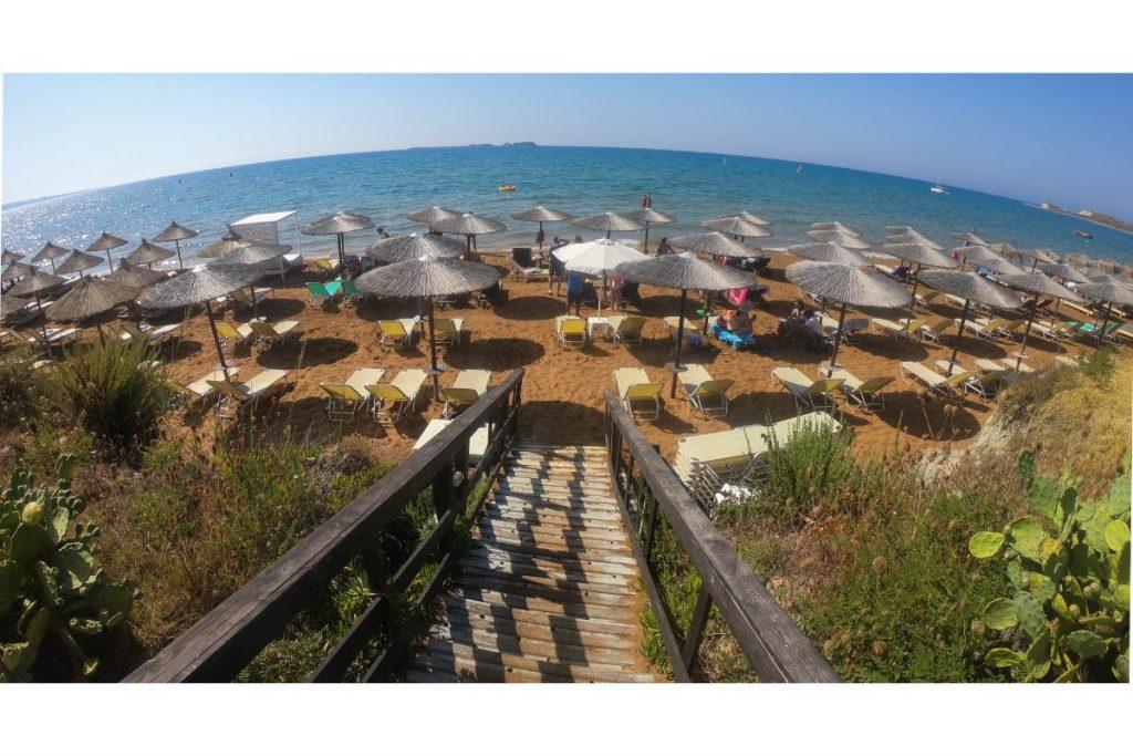 Xi beach in Greece