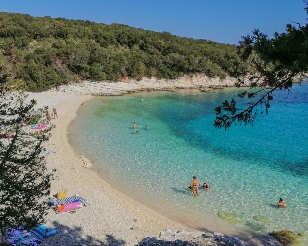 Emblisi  beach in kefalonia