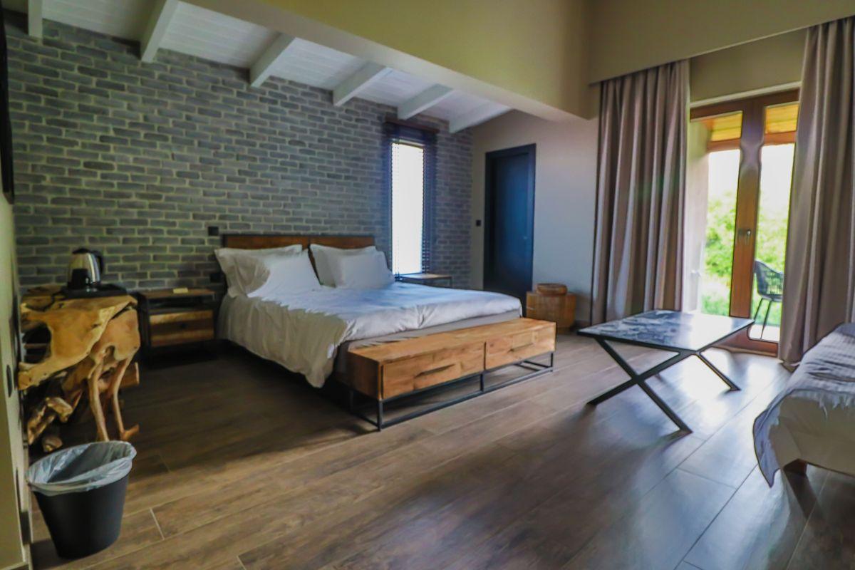 hotel room in zagorochoria
