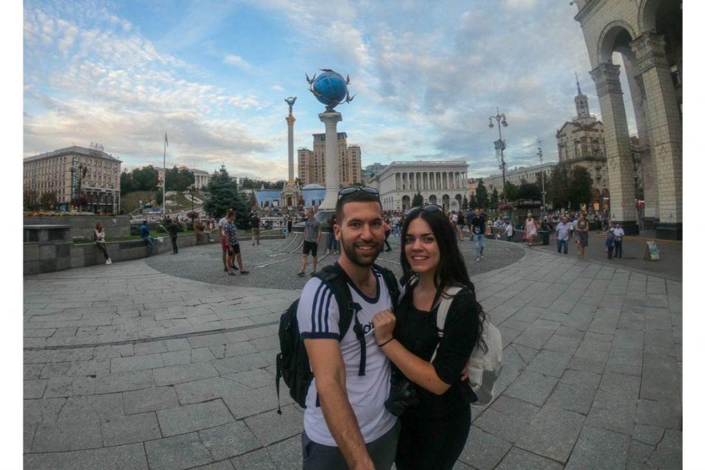 Kiev downtown, capital of Ukraine