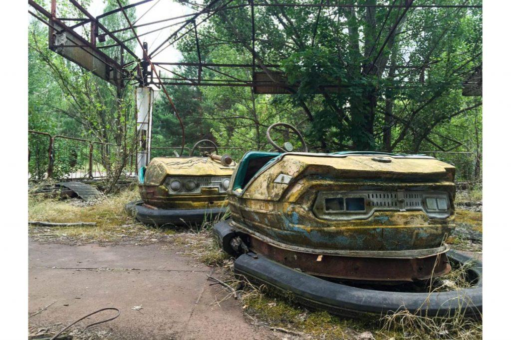 Το διάσημο τσέρνομπιλ στην Ουκρανία
