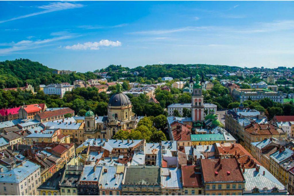 Η πόλη Λβιβ στην Ουκρανία