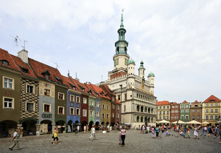 City of Poznan in Poland
