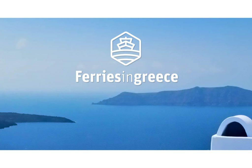 ferries in greece logo