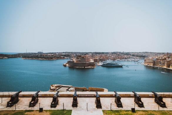 Valletta, capitalo of Malta
