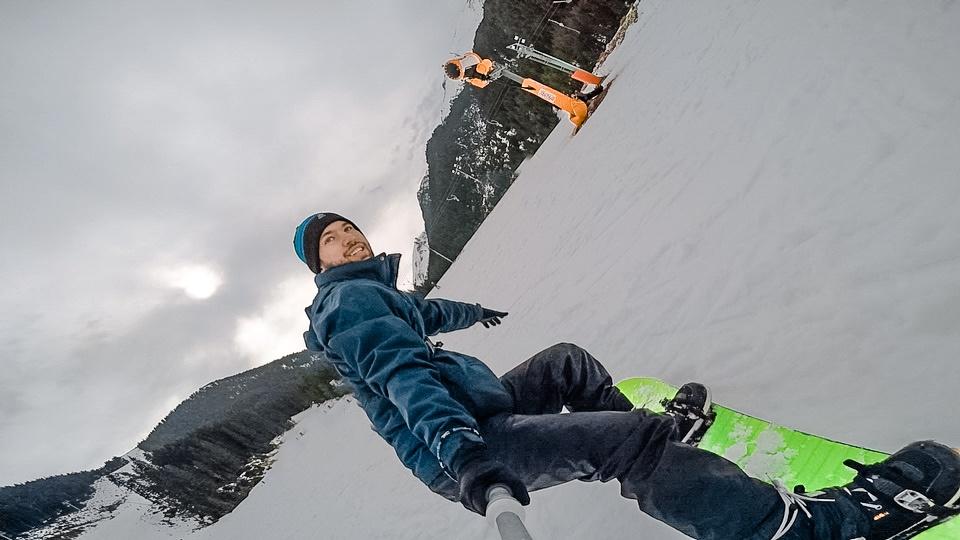 snowboarding at Bansko Ski Center