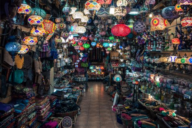 Το παζάρι του Αλ-Χαλίλι - El khalil bazaar