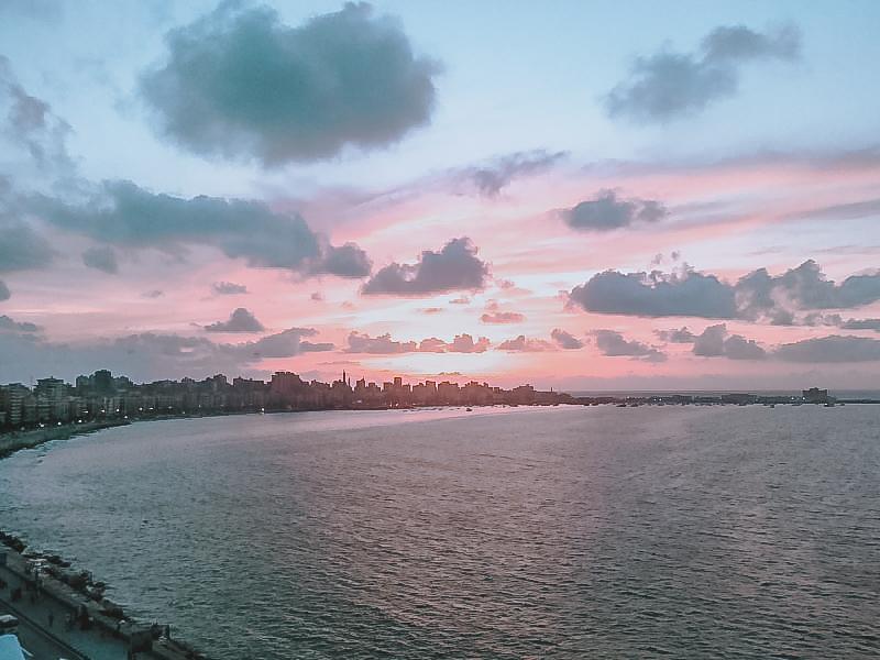 Alexandria seaside view