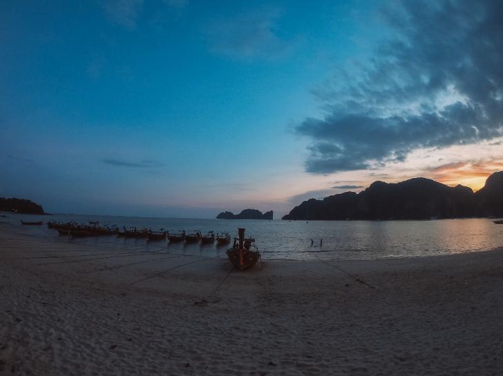 Tonsai Bay at Phi Phi islands