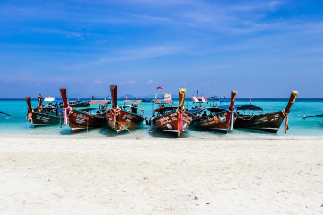 Bamboo Island at Thailand